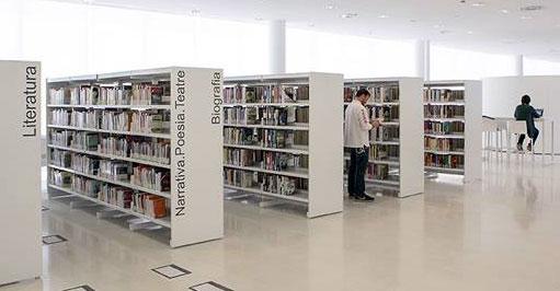 Mobiliario para bibliotecas y equipamiento