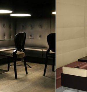 Mobiliario espacios de ocio Cisa
