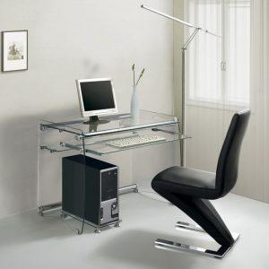 mesa de cristal para ordenador