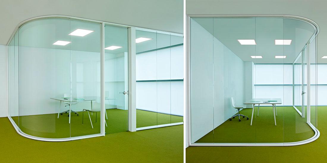 Claves para dividir ambientes en tu espacio de trabajo