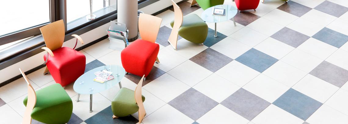 Muebles adecuados para sala de espera